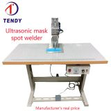 Mask ear belt spot welder