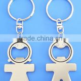 High Quality Blank Metal Bottle Opener Keychain