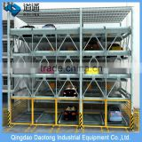 Professional safety smart robot steel structure for car parking