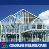 C Channel Light Gauge Steel Prefabricated Villa / steel structure villa / prefabricated house