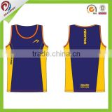 Men's Custom design printing t-back singlet