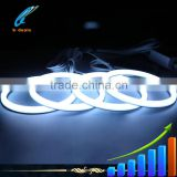 B-Deals Car accessories 120mm wifi control Rgb color changing angel eyes for bmw E30 E32 E34