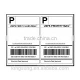 hot sale half sheet letter size shipping label for laser & inkjet printer on Amazon                                                                         Quality Choice