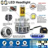 High power energy saving waterproof no fan type led headlight 5 color available