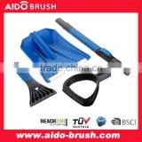 AUTO cleaning shovel Snow Shovel with Ice Scraper adjustable handle Aluminum tube Auto Emergency Shovel
