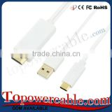 China TOP Ten Brand Manufacturer Direct Sell White HDMI Cables