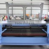 80W /100w/ 150 W Large Area Clothing/Apparel/Garment Professional automatic feeding laser cut fabric