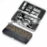 10 PCS PROFESSIONAL MANICURE PEDICURE TOOLS SET KIT UNISEX BRAND NEW EXCELLENT/ Beauty instruments manicure and pedicure