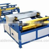 Carbon steel pipe fabricating machine,production 3 with lock forming,grooving,flange forming
