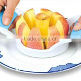 S/S+ABS +PVC18*10.8*5.4 Food grade apple peeler corer slicer/stainless steel apple corer