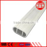 High quality and low price aluminum tube, threaded aluminum tube