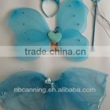nylon butterfly wings/fairy wings artificial angle wings costume set party decoration