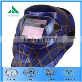 blue lens welding/ funny spider-man helmet / welding mask/ devil welding helmet/ full face helmet with water transfer decals                                                                         Quality Choice