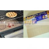 pass SGS FDA LFGB Glass fiber coated with food grade Teflon (PTFE)Oven Liner BBQ grill mat baking liner mat