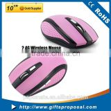 2.4G usb Wireless Optical Mouse driver 6D custom wireless Mice with page up & down button for wholesale