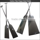 Best quality! Custom lightweight 3k matt/glossy full carbon fiber dragon boat paddle for racing boats