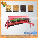 2015 hot sale seed drill, wheat, barley, grass with hydraulical rotary seeder