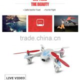 Hot R/C Helicopter New product Hubsan H107D X4 FPV 6-Axis 5.8G 4ch RC Quadcopter UFO RTF with LED light