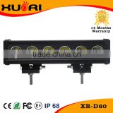 Spare parts 60w High lumen outdoor reflector led lights 7800lm single row vision x led bar