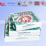 Customized design pizza corrugated paper packaging box