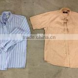 Men shirts Grade A China factory directly sale premium mixed warehouse bulk wholesale second hand used clothing
