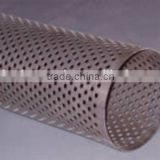 excellent cooper 5.0mm round hole punched size perforated sheet metal mesh