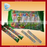 10g Twist marshmallow candy floss stick