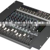 Rack Mount PA Mixer Console With 12 Channels For Professional Audio Mixing