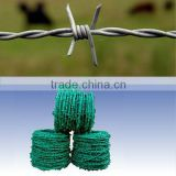 galvanized decorative barbed wire fencing
