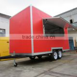 2015 HOT SALES BEST QUALITYmanufacturering food van food van with vedio food van on street running