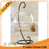 Terrarium Container Decor with Stand Hanging Glass Ball Vase Flower Plant Pot