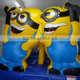 high quality inflatable minions bounce house combo for sale                                                                         Quality Choice