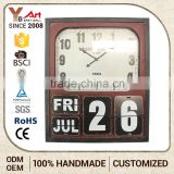 RELOJ PARED COOL WALL CLOCKS WITH DATE SHOW