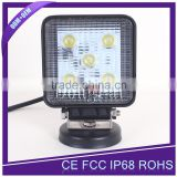 New Arrival 12V 24V 15W LED Working Light With Spot Beam & Flood Beam for Agricultural Machinary, Truck, Boat, 4X4