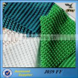 100% polyester knitted corn mesh fabric for caps