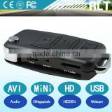 Car key hidden mini camera HD AVI 1280*960 30fps 5megapixels PC webcam USB interface high capacity lithium batteryt