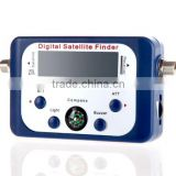 DIHAO Mini Digital Satellite Signal Meter Finder w Compass BUZZER, LCD, FTA, DISH Satellite factory supplier