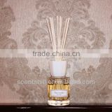 name brand scents 80ml high quality crystal glass real ceramic cap home fragrance Reed difuser