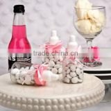 Wholesale Cute Clear Plastic Baby Bottle Shower Party Decorations and Favors