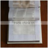 Fire retardant sheer fireproof window curtains fabric XJSY 0237