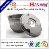 powder coating cctv security camera accessories enclosure OEM parts aluminum die casting