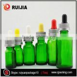 10 ml amber dark green glass olive oil bottle eye drops container                                                                                                         Supplier's Choice