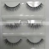 2016 popular and many good reviews products realistic custom order 3D fur strip eyelash extensions 0.07