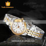 2014 New WEIDE Waterproof Fashion elegent woman classic watch ladies gold bangle latest design brand sports watch for women