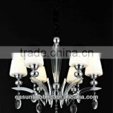 Luxury spiral crystal modern chandeliers