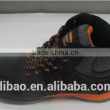 high quality low price genuine leather eva+ rubber outsole safety shoes running shoes men