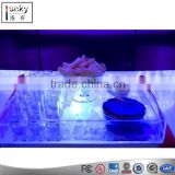 LED Tray Acrylic Bottle Glorifier