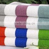 2015 Terry Towel 100% Cotton Stripe Design Beach Towel Yarn Dyed Bath Towel