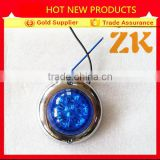 Round universal truck led indicator marker signal light led trailer side marker and clearance lights