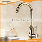 Cheap Antique bathroom brass basin faucet